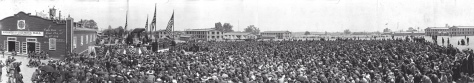 1918 Field Mass at Camp Dix
