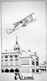 Drawing by Carl F. Hanneman