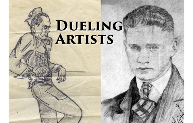 Dueling Illustrator Brothers: Carl F. and Wilbert G. Hanneman