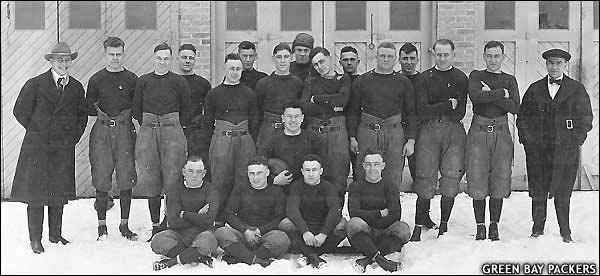 Beloit Fairies Handed Green Bay Packers First Loss in 1919