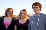 Samantha, Ruby and Stevie