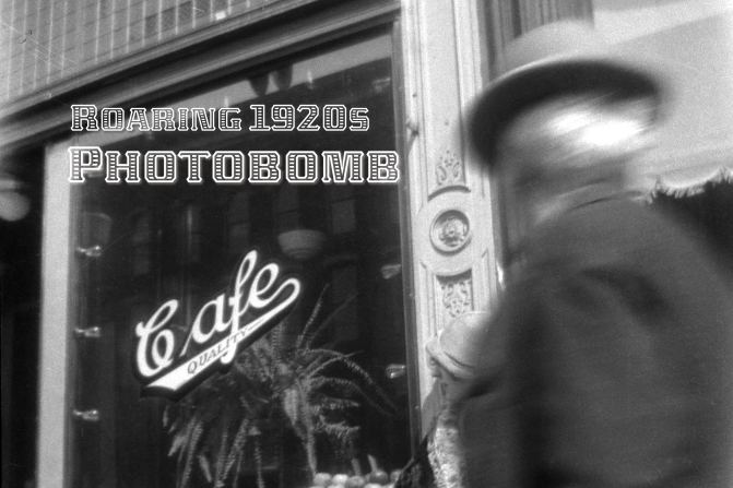 Eye on the Past: Roaring 1920s Photobomb