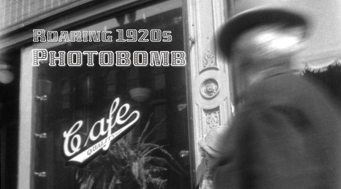Eye on the Past: Roaring 1920s Photobomb