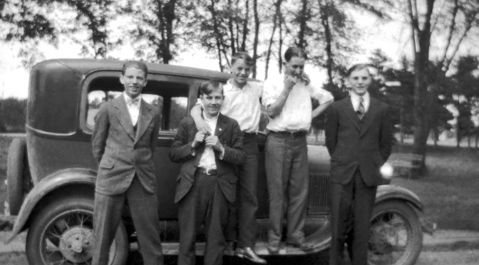 Eye on the Past: Youthful Pals and the Model T