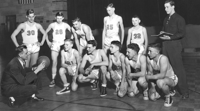 Eye on the Past: 1940s Mauston High School Basketball