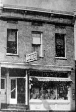 The Mauston Drug Store, circa 1930. Image courtesy of the Juneau County Historical Society.