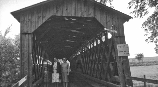 Wisconsin's Last Covered Bridge is 140 Years Young