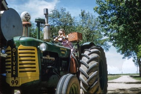Ruby Hanneman Tractor