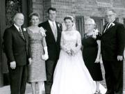Carl and Ruby Hanneman, David Hanneman, Mary (Mulqueen) Hanneman, Margaret Mulqueen and Earl J. Mulqueen Sr.