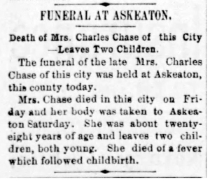 Mrs. Chase Dies_1897a