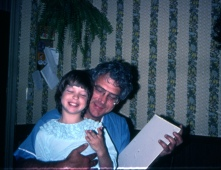 Dad with daughter Amy.