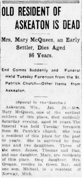 Mary_McQueen_Dies_1913