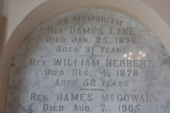 Memorial to priests at St. Patrick's in Askeaton.