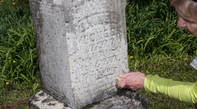 Restoring and Documenting Two Mulqueen Grave Monuments