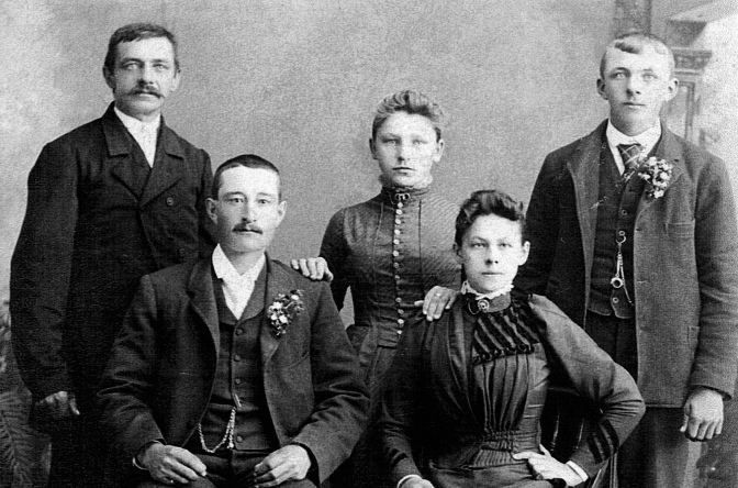 Photographs Show Family Pioneer Joseph Ladick (1846-1905)