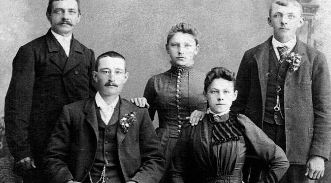 Photographs Show Family Pioneer Joseph Ladick (1846-1905)