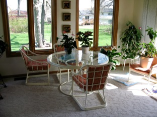 The new sun room, circa 2006.