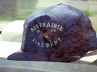 One of David D. Hanneman's favorite hats, shown in the back seat of his car in 2007.