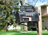 The old mailbox.
