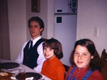 David, Amy and Marghi Hanneman, circa 1979.