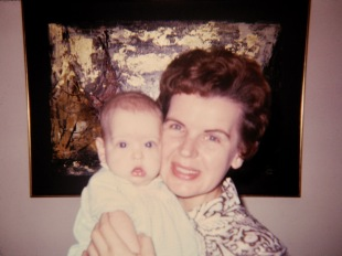Mary Hanneman with baby daughter Amy in 1969.