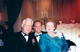 David D., David C. and Mary Hanneman at Amy Hanneman Bozza's wedding.