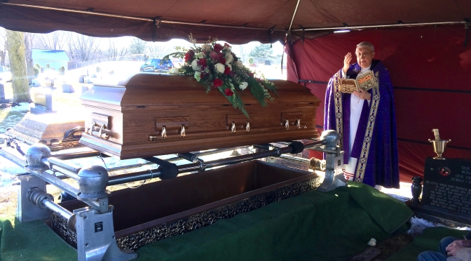 "Funeral Homily: ""Hope Does Not Disappoint"""