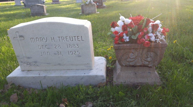Good Evidence of the Value of Cleaning Cemetery Headstones