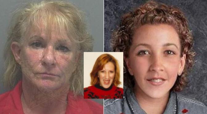 Linda LaRoche and victim Peggy Lynn Johnson